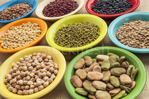 beans in bowls abstract Stock photo © PixelsAway