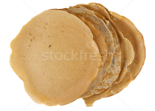 homemade buckwheat flour crepes Stock photo © PixelsAway