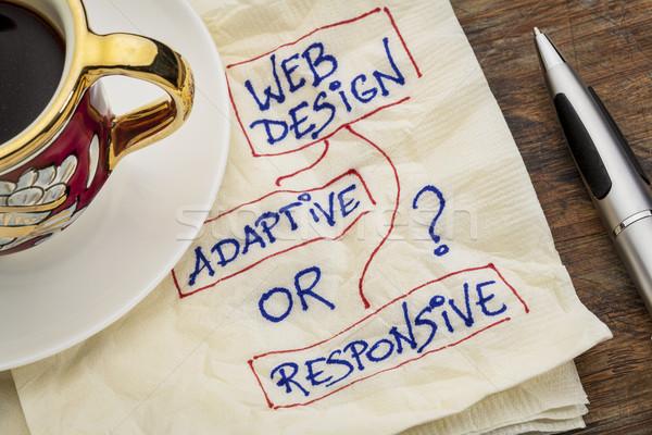 web design question Stock photo © PixelsAway