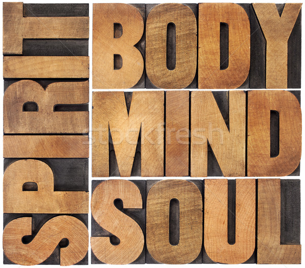 body, mind, soul and spirit Stock photo © PixelsAway