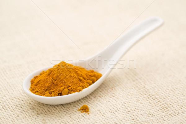 turmeric root powder Stock photo © PixelsAway