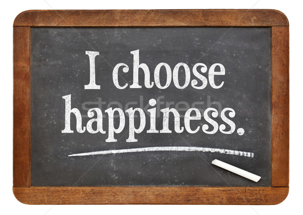 I choose happiness Stock photo © PixelsAway