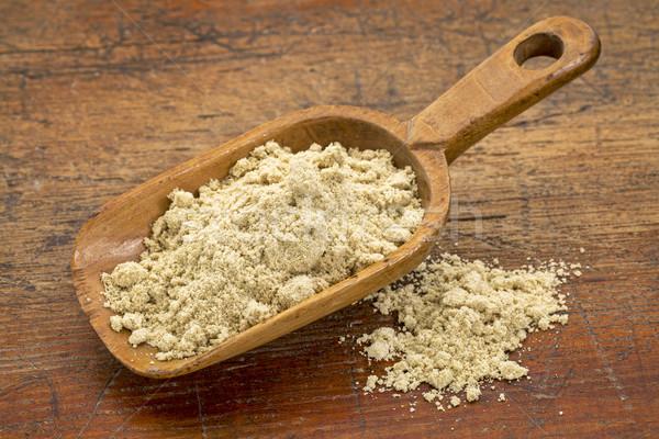 scoop of rice bran Stock photo © PixelsAway
