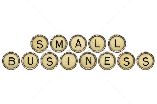 Stock photo: small business