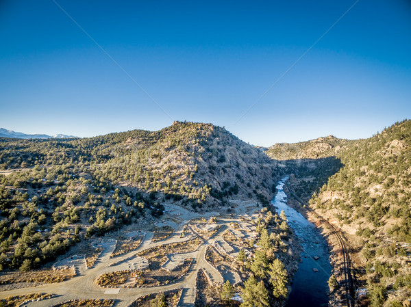 Arkansas River aerial view Stock photo © PixelsAway