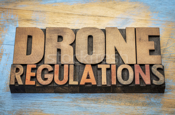 drone regulations word abstract Stock photo © PixelsAway