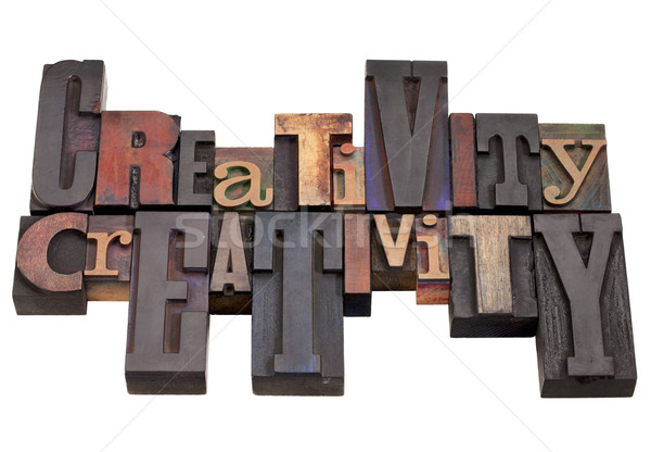 creativity word abstract Stock photo © PixelsAway