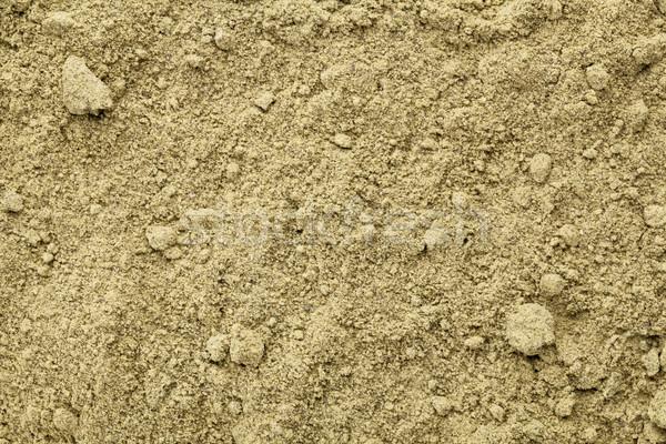 Organique protéines poudre texture brut super Photo stock © PixelsAway