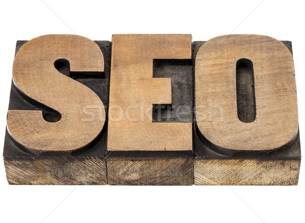 SEO - search engine optimization Stock photo © PixelsAway
