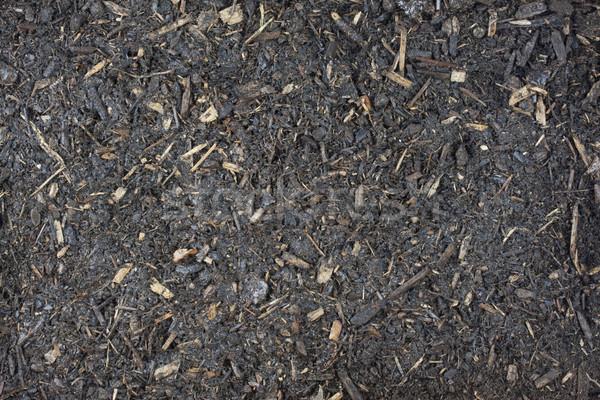 damp garden potting soil background Stock photo © PixelsAway