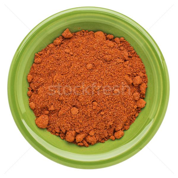 organic paprika powder Stock photo © PixelsAway