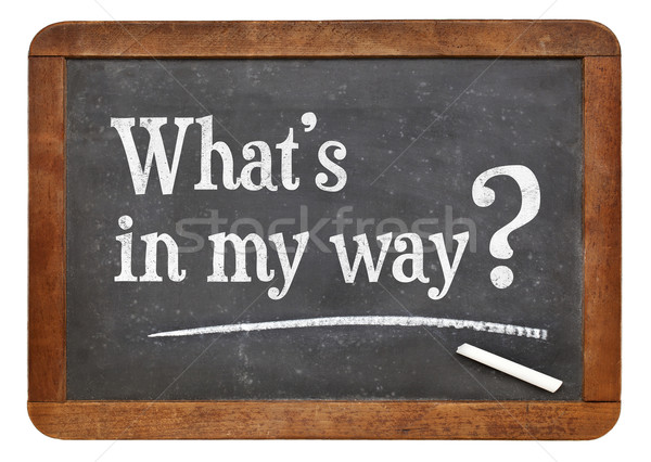 What is in my way? Stock photo © PixelsAway
