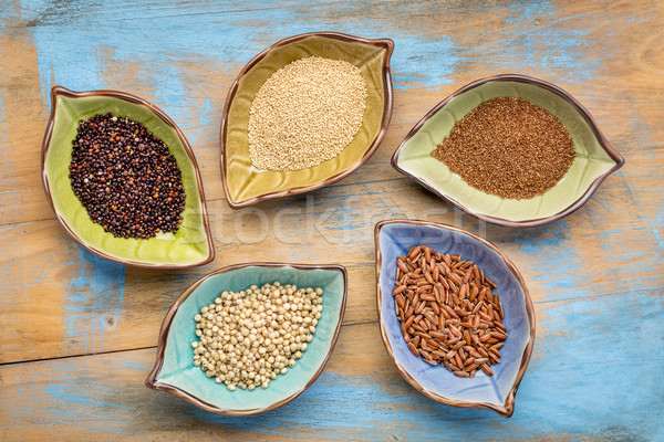 gluten free grains bowl abstract Stock photo © PixelsAway