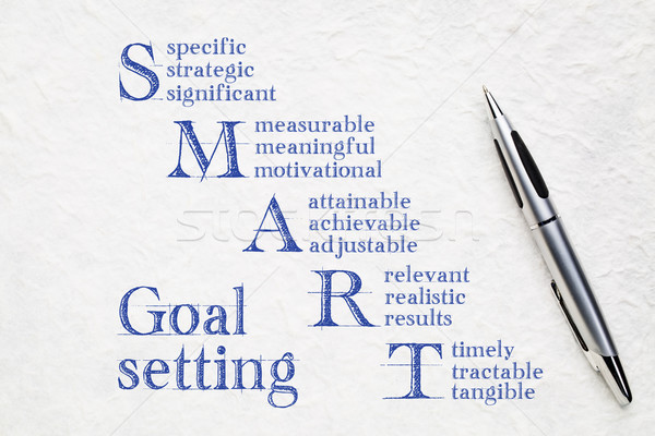 smart goal setting concept Stock photo © PixelsAway