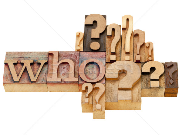 who question abstract Stock photo © PixelsAway