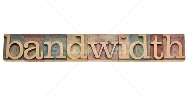 bandwidth - internet concept Stock photo © PixelsAway