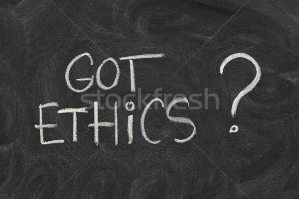 Got ethics ? Stock photo © PixelsAway