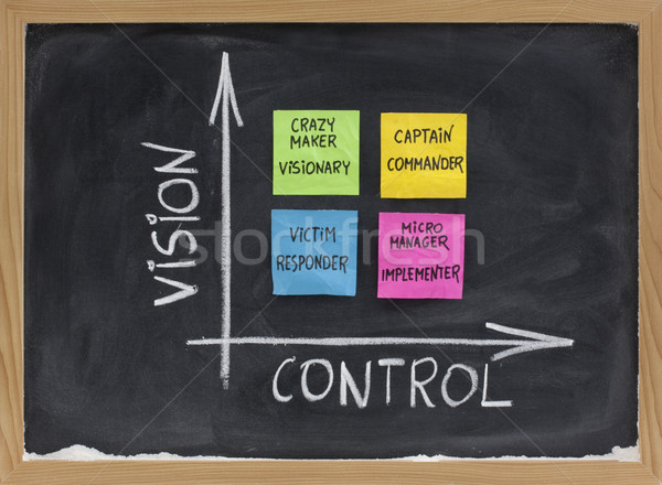 vision, control and self management concept Stock photo © PixelsAway