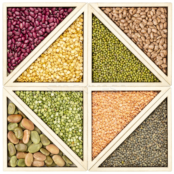 bean, pea and lentil abstract Stock photo © PixelsAway