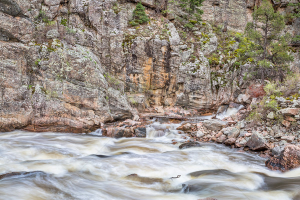 Poudre Canyon and River in Rocky Mountains Stock photo © PixelsAway