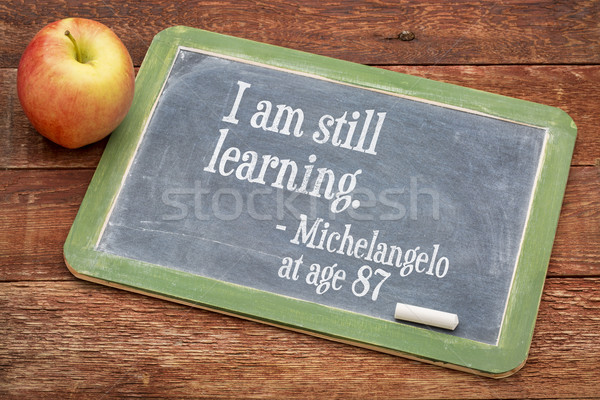 I am still learning - continuous education Stock photo © PixelsAway