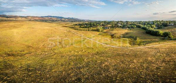 Préri Colorado légi panoráma elöl terjedelem Stock fotó © PixelsAway