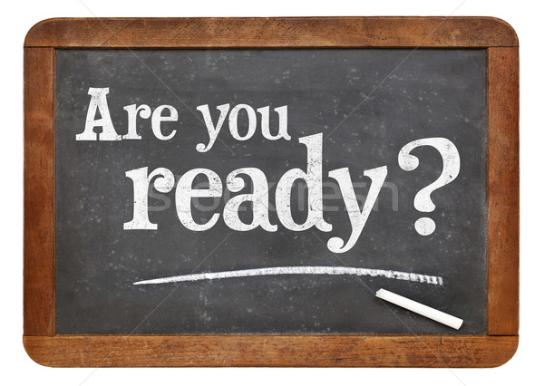 Are you ready question Stock photo © PixelsAway