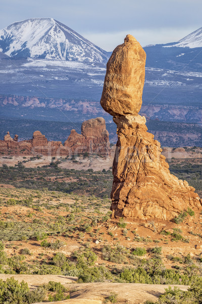 Balanced Rock in Arches National Park Stock photo © PixelsAway