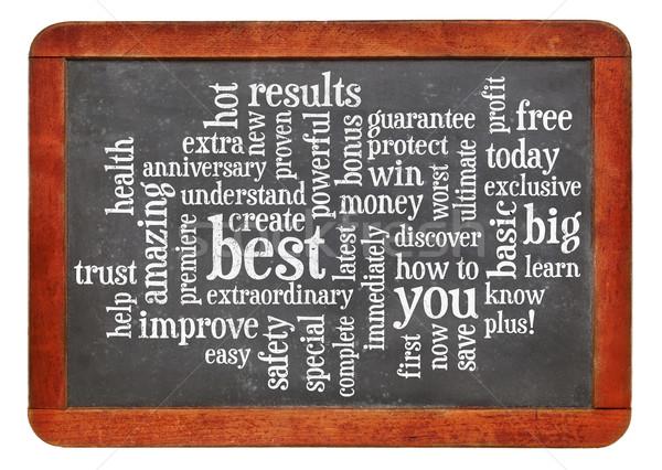 copywriting power words Stock photo © PixelsAway