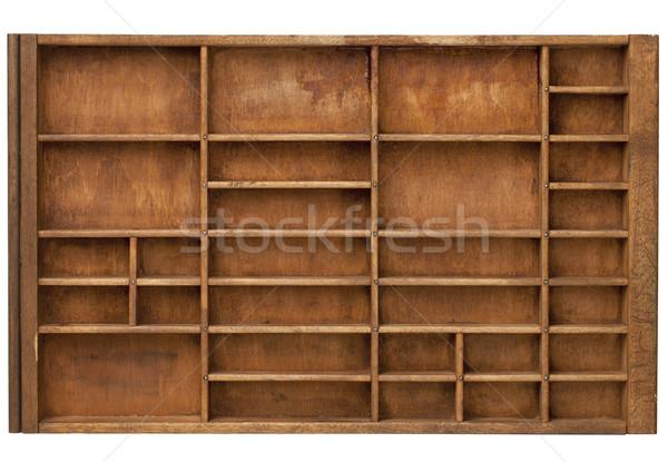 vintage printer drawer Stock photo © PixelsAway