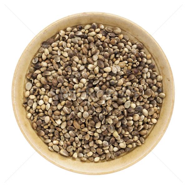 whole hemp seeds Stock photo © PixelsAway