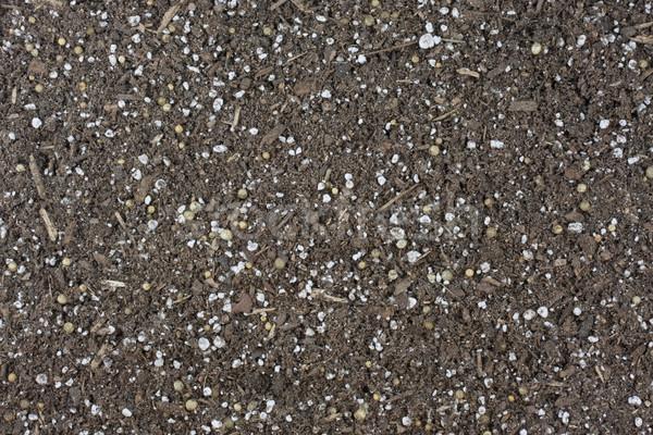garden potting soil background Stock photo © PixelsAway