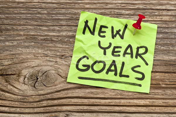 New Year goals  Stock photo © PixelsAway