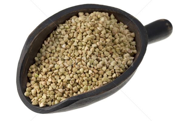 scoop of buckwheat groats Stock photo © PixelsAway