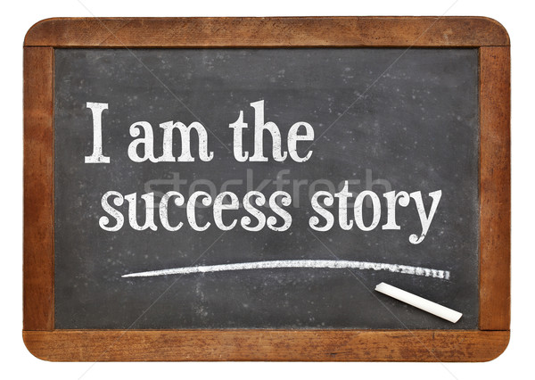 I am the success story Stock photo © PixelsAway
