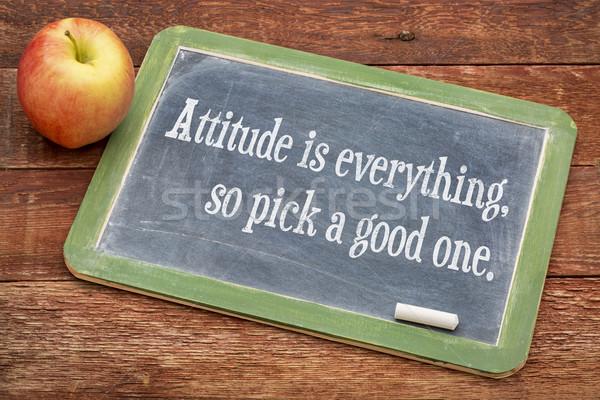態度 良い 1 ポジティブ やる気を起こさせる 単語 ストックフォト © PixelsAway