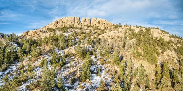 Horsetooth Rock panorama Stock photo © PixelsAway
