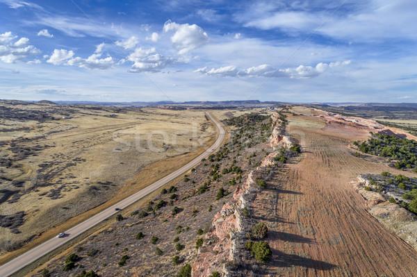 Kuzey Colorado manzara karayolu Stok fotoğraf © PixelsAway