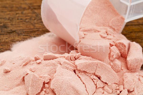 pomegrante fruit powder Stock photo © PixelsAway