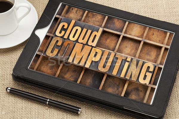 cloud computing  Stock photo © PixelsAway
