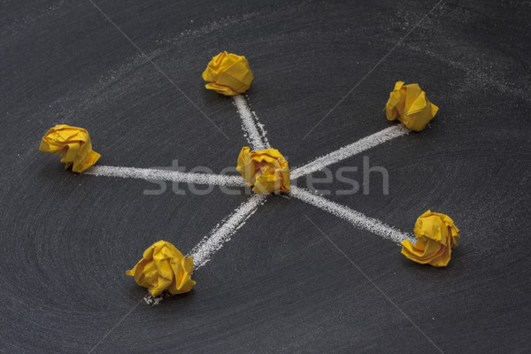 network topology 2 - star model Stock photo © PixelsAway