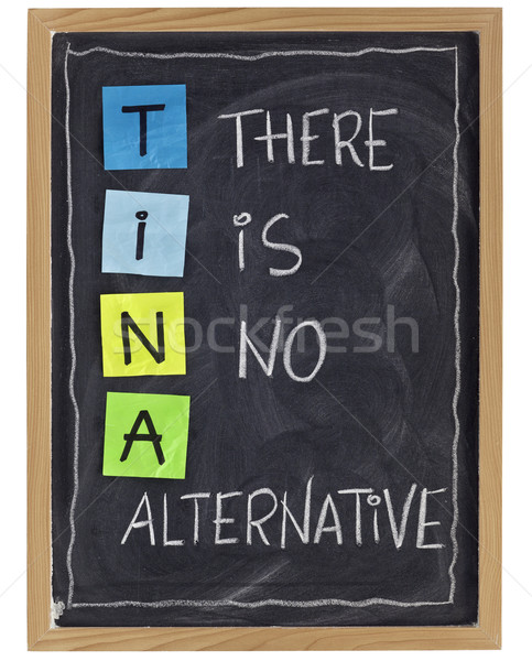 there is no alternative Stock photo © PixelsAway