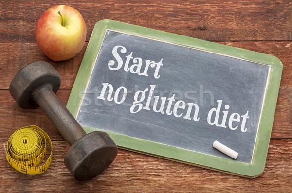 start no gluten diet advice Stock photo © PixelsAway