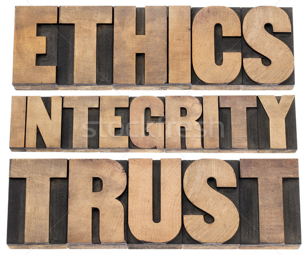 ethics, integrity, trust Stock photo © PixelsAway