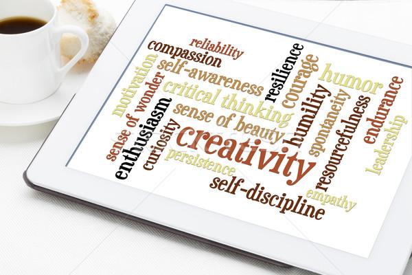 Pessoal nuvem da palavra criatividade outro digital comprimido Foto stock © PixelsAway