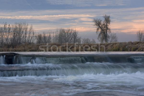 Küçük nehir kuzey doğu Colorado güney Stok fotoğraf © PixelsAway