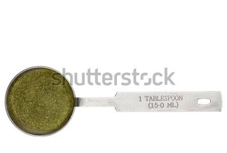 blue green algae powder Stock photo © PixelsAway