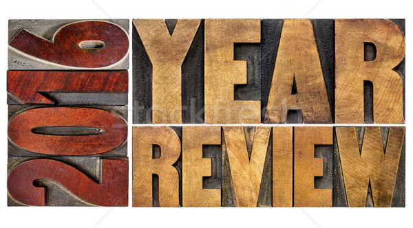 review of 2016 year banner Stock photo © PixelsAway