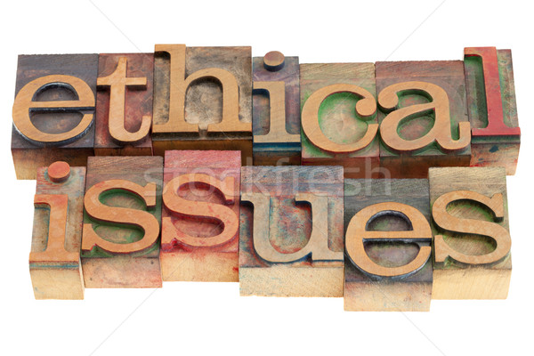 ethical issues Stock photo © PixelsAway