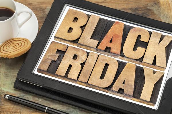 Black Friday shopping concept Stock photo © PixelsAway